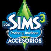 Logo sims 3 patios y jardines