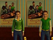 Michael Bachelor poster (The Sims 3)