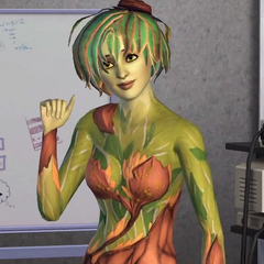 Un Simagreste visto en la guía del productor de <i>Los Sims 3: Movida en la Facultad</i>.