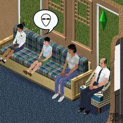 Familia Gentil en versiones asiáticas del original <i>Los Sims</i>.