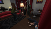 TS4 Sims Reacting to Death