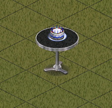 Ts1 birthday cake