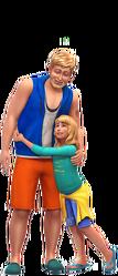 Les Sims 4 Être parents render 06