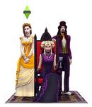 Les Sims 4 Vampires Test R2