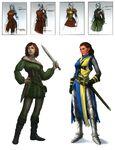 Les Sims Medieval Concept art 2