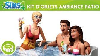 Les Sims 4 Kit d'Objets Ambiance Patio bande-annonce officielle