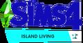 TS4 EP7 Island Living Logo