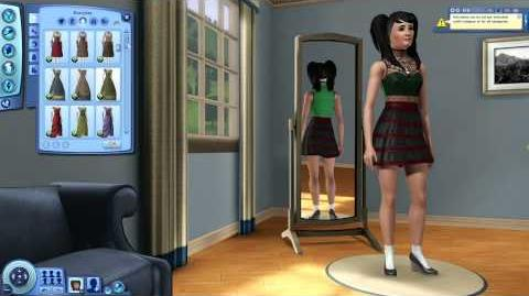 The Sims 3 Midnight Hollow Producer Gameplay Demo Part 2