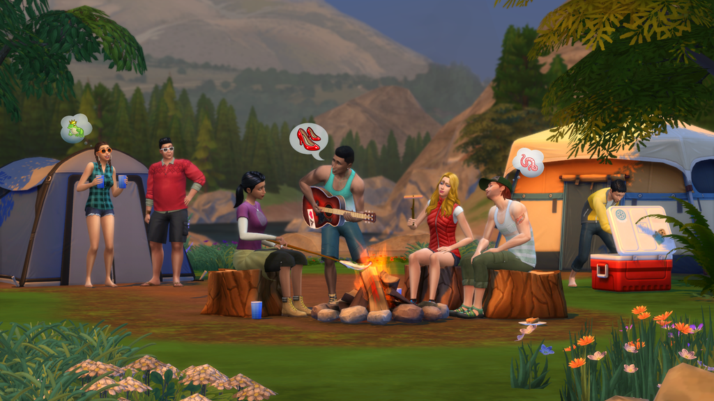 The Sims 4: Outdoor Retreat | The Sims Wiki | FANDOM ...
