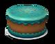 Blue Confetti Cake