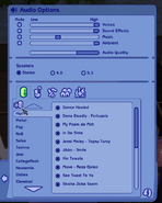 Custom radio station button TS2