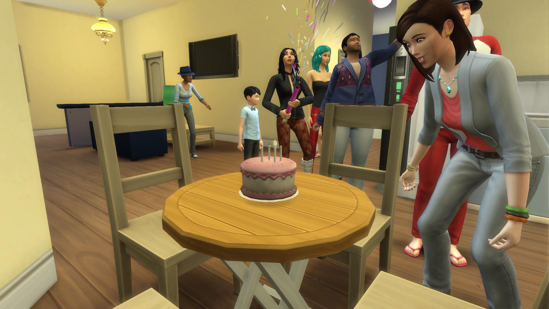 Marvelous Birthday Cake The Sims Wiki Fandom Funny Birthday Cards Online Hetedamsfinfo