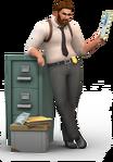 Les Sims 4 Au Travail Render 12