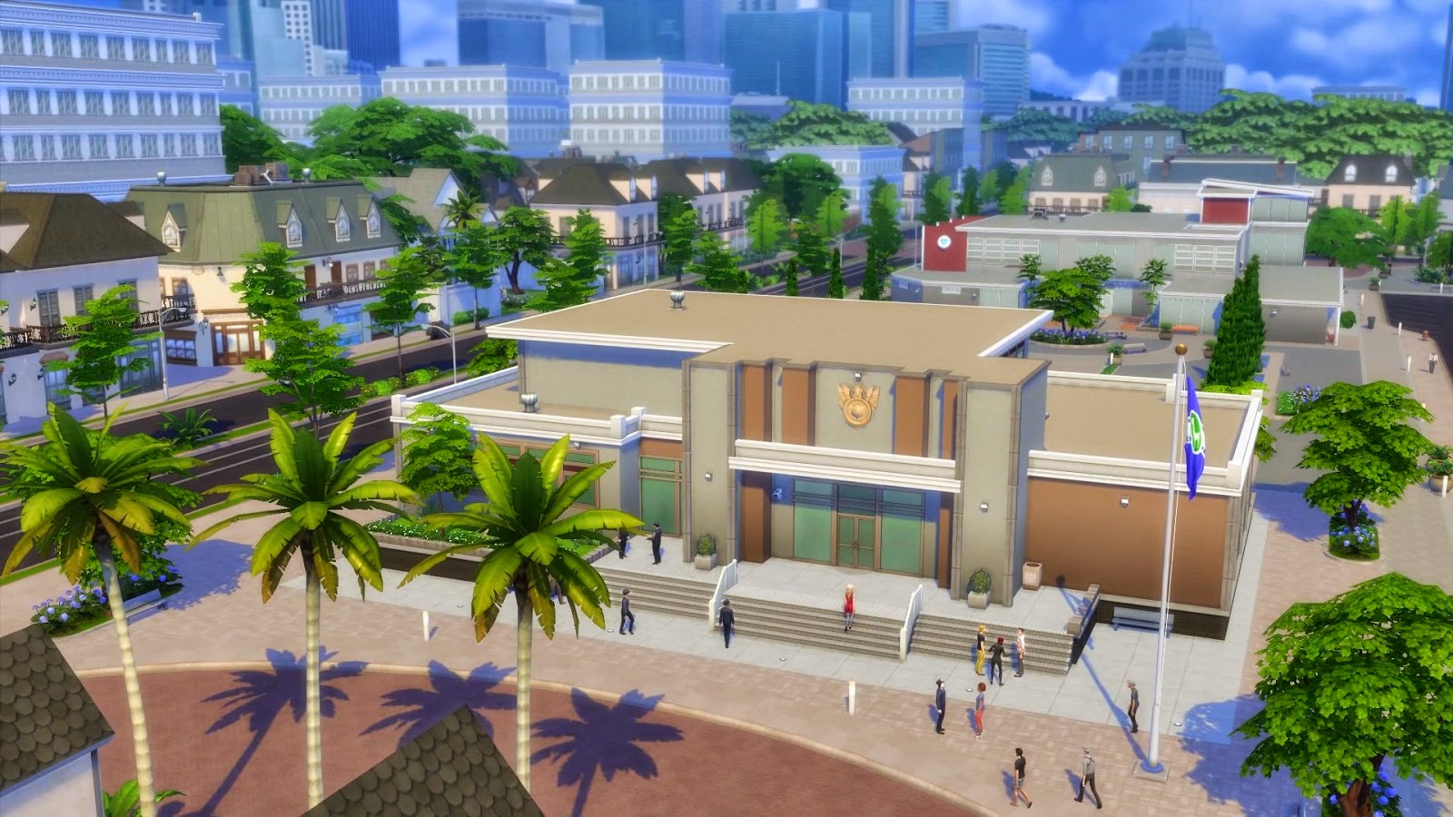 Civic Center The Sims Wiki Fandom Powered By Wikia