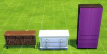 TS4 Dressers