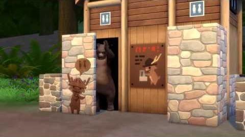 The Sims 4 Outdoor Retreat trailer teaser