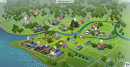 Willow creek map