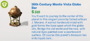 16th Century Monte Vista Globe Bar