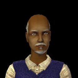 Raul FitzGerald From The Sims 2