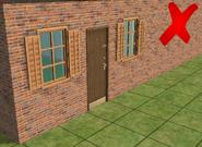 Ts2 custom apartment gg - incorrect apartment door 1