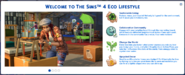 Eco Lifestyle Welcome