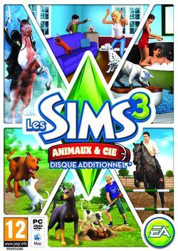 Jaquette Les Sims 3 Animaux & Cie