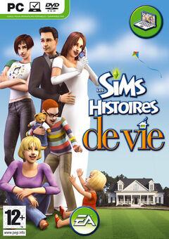 Jaquette Les Sims Histoires de vie