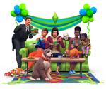 Les Sims 4 Chiens et Chats Render 02