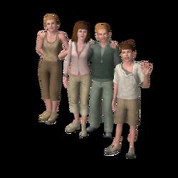Mannin familie