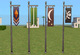 Sims 2 flags