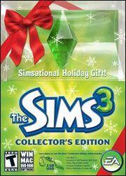 Boite Les Sims 3 Edition Collector de Noël