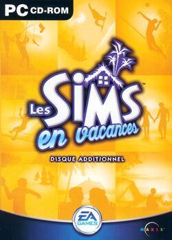 Jaquette Les Sims en vacances