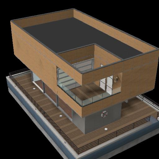 Nossa Primeira Casa Flutuante
