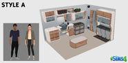 Création kit Les Sims 4 par fans - Style A
