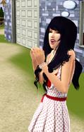 Cute Nikki Yang Excited