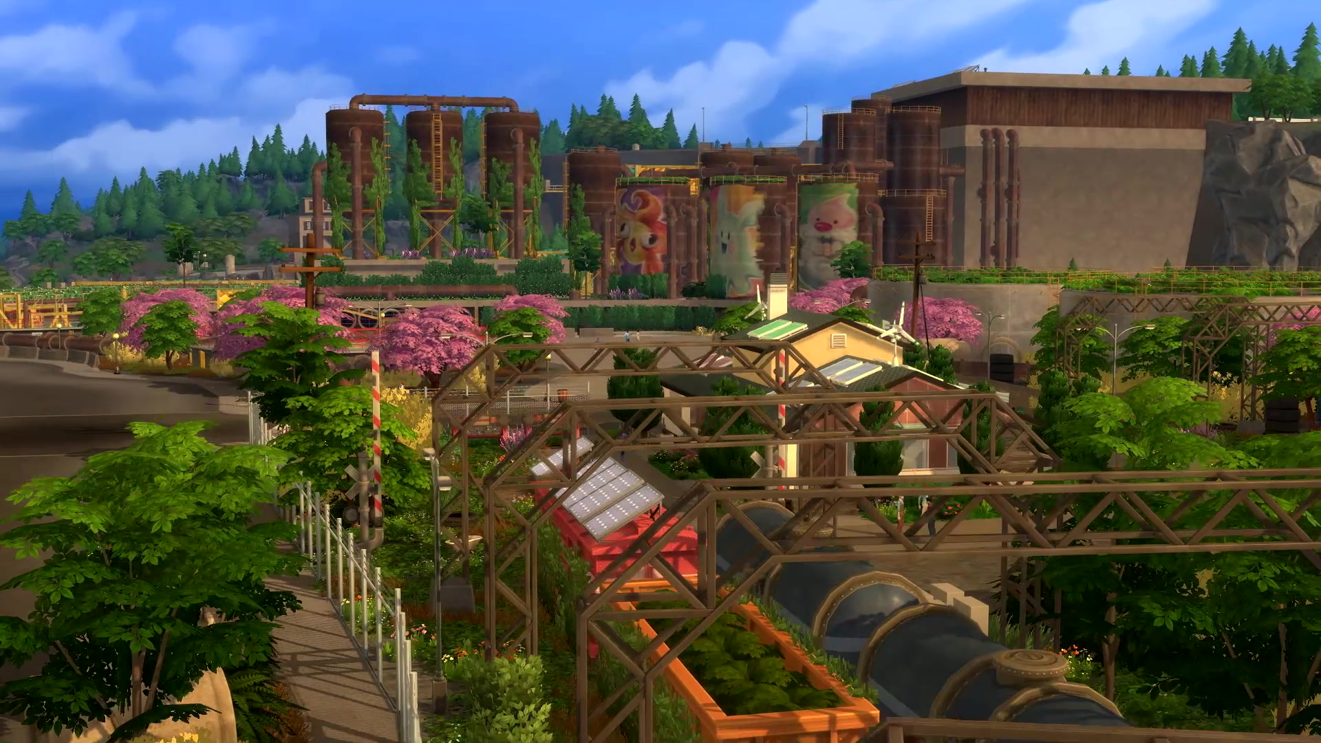 The Sims 4 Worlds List Of Lots The Sims Fan Page