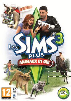 Jaquette Les Sims 3 Plus Animaux & Cie