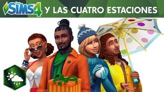 Los Sims 4 Y Las Cuatro Estaciones tráiler de presentación oficial