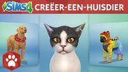 Officiële gameplaytrailer van De Sims 4 Honden en Katten Creëer-een-huisdier