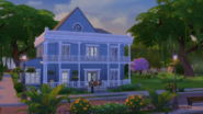 TS4 Town Sunsethouse