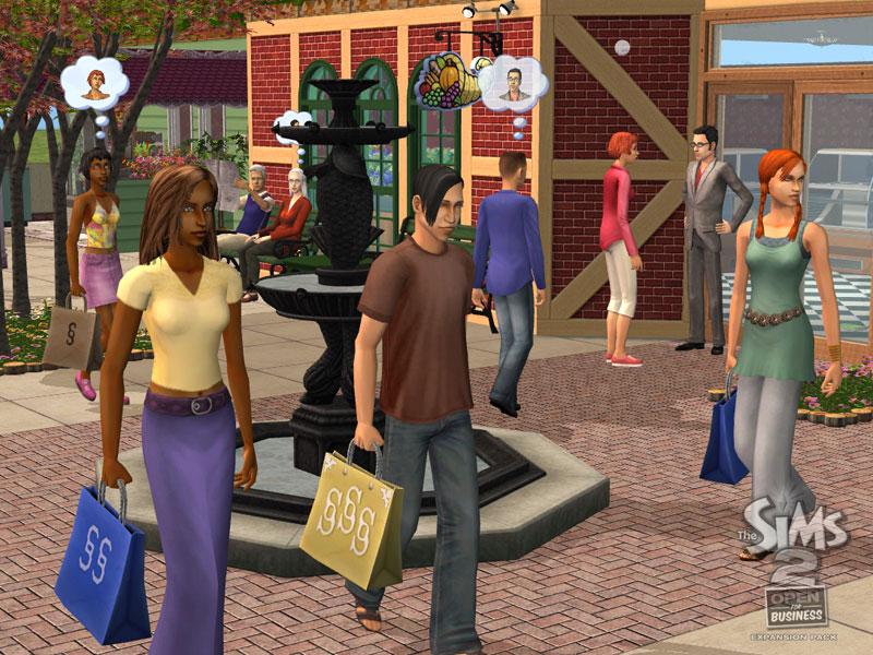 Изображение the sims 2 open for business screenshot 03. Jpg | the.