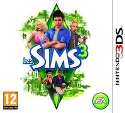 Jaquette Les Sims 3 (Nintendo 3DS)