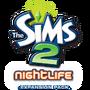 The Sims 2 Nightlife Logo (Original)