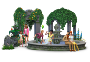 The Sims 4 Romantic Garden Stuff Render 02