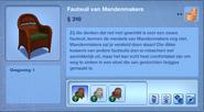Voorwerp Fauteuil van Mandenmakers