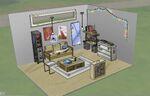 Les Sims 4 Jour de lessive Concept Premier logement