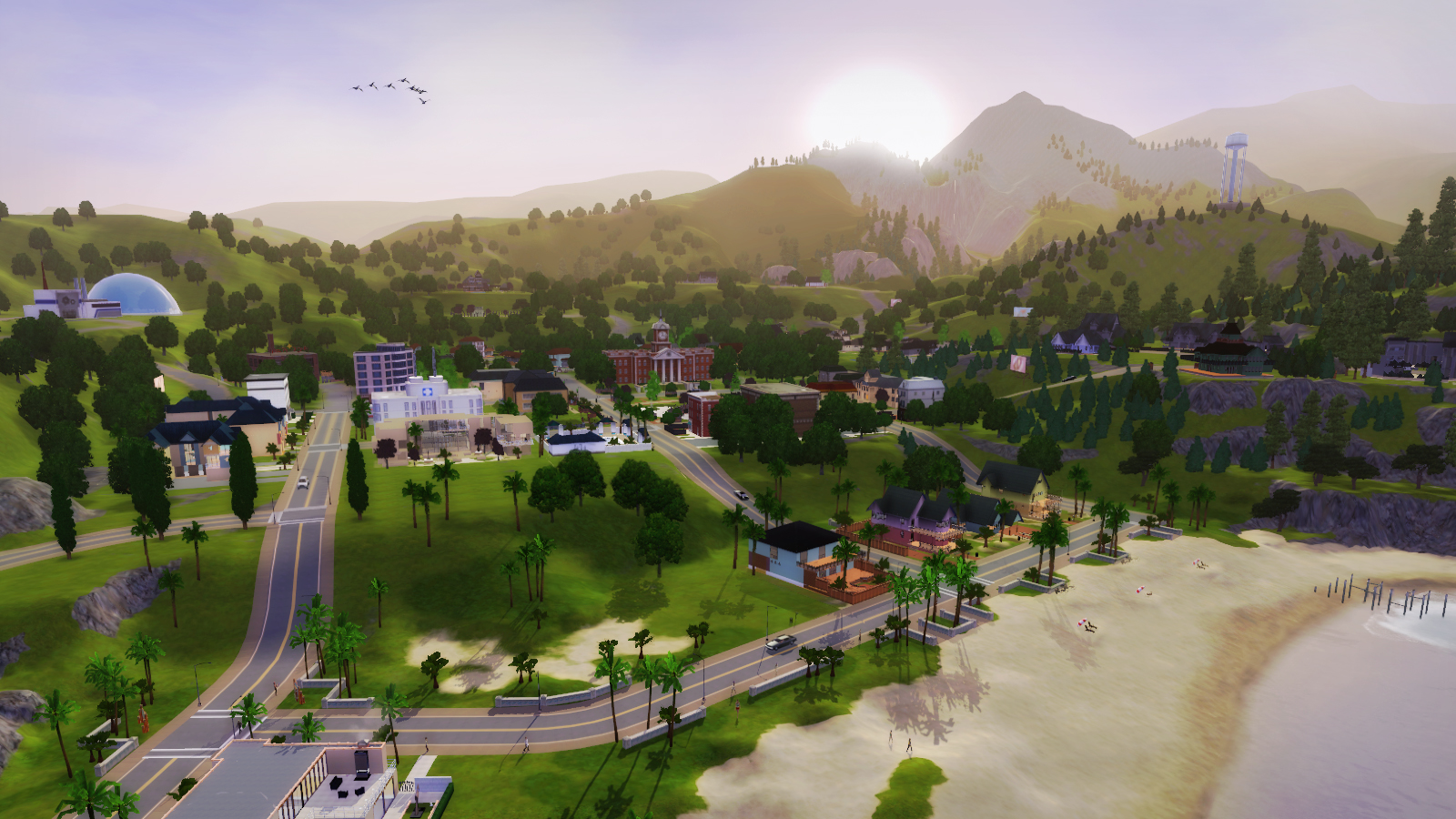 Sunset Valley | The Sims Wiki | FANDOM powered by Wikia