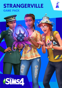 The Sims 4 Strangerville Cover