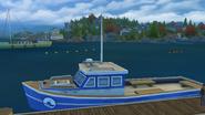 Яхта на Верфи Вискермана