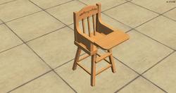 High Society High Chair - brown